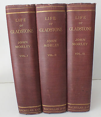 VOL I THE LIFE OF GLADSTONE