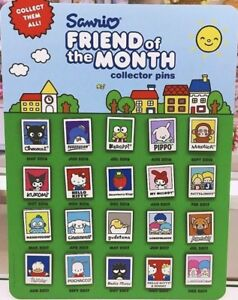 3e87125a9 2016, 2017, 2018 NEW Sanrio FRIEND of the MONTH collector pin OR ...