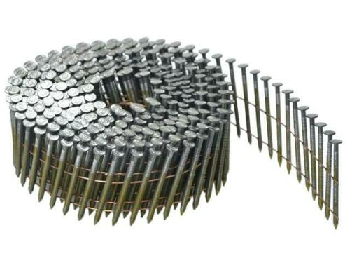 Bostitch N66C-2-E Galvanised Ring 15° Wire Collated Coil Nails 32-64mm Tacwise