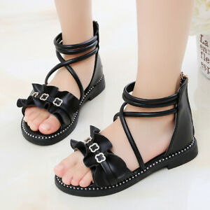 Students School Flat Sandals for Girl