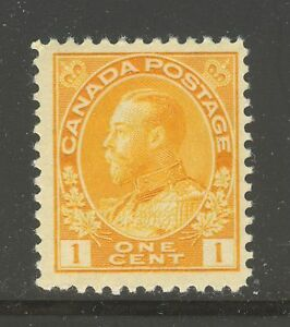 Canada #105, 1922 1c King George V - Admiral Issue, Unused NH