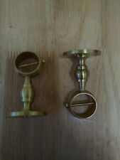 Fencemate 24 or 28mm Decking Rope Bracket Exhibition Display BRASS CHROME