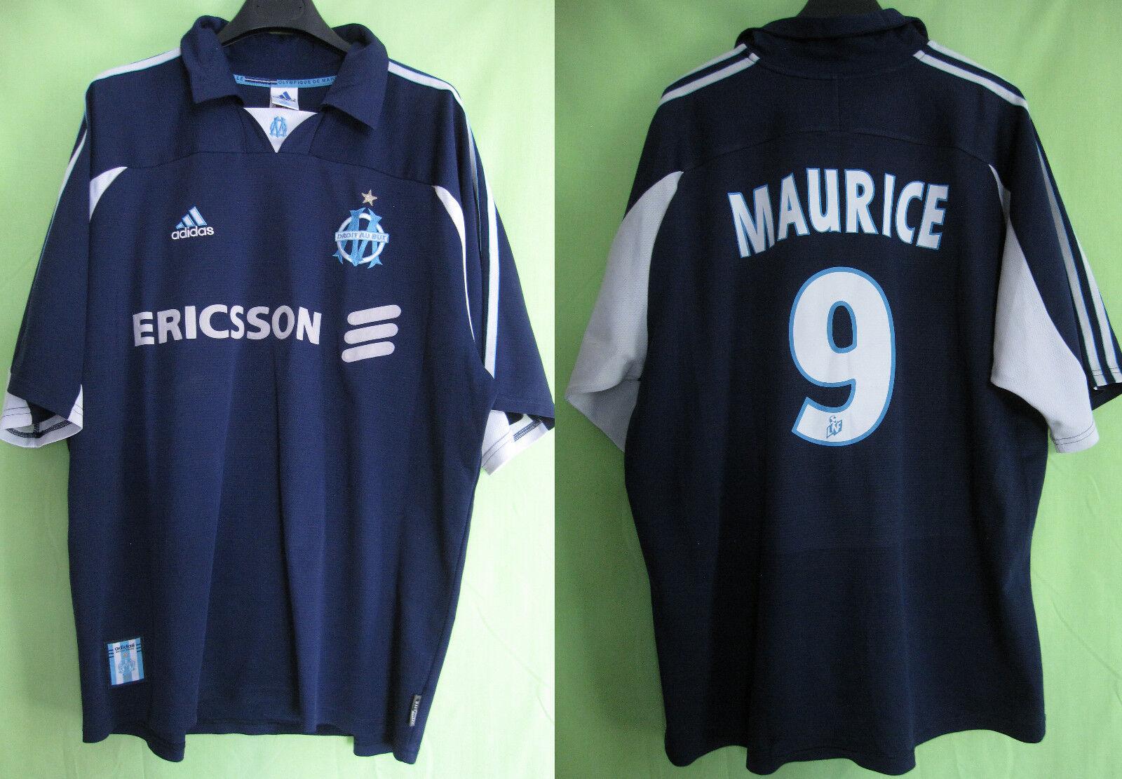 Maillot Olympique Marseille 2000 shirt MAURICE Ericsson OM Football - XL