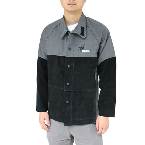 Arc Knight Male Welding Protective Jacket Fireproof Fire Resistant Cloth