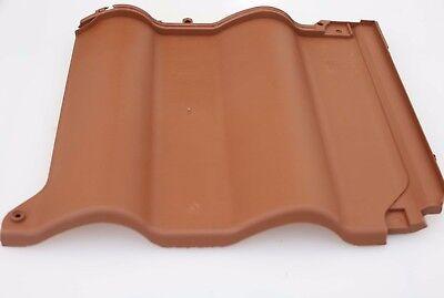Sanft Kunststoff Dachziegel Kunststoff Dachpfanne Dachziegel Leichtdachziegel Marrone Gute QualitäT Baustoffe & Holz Sonstige