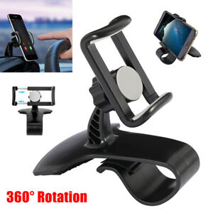 Universal-Cell-Phone-GPS-Car-Dashboard-Mount-Holder-Stand-Hud-Clip-on-Cradle