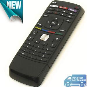Details about Brand New XRT112 Remote for Vizio LED Smart Internet Apps TV  VT3D650SV M470SL