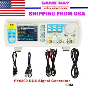 FY6800-60MHz-Precision-Digital-DDS-Dual-channel-Function-Signal-Generator