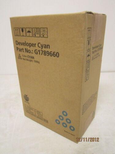 Genuine Ricoh C900 C720 C900S Cyan Developer G1789660 New