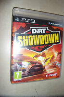1 x BOXED SONY PLAYSTATION 3 PS3 GAME  DIRT SHOWDOWN PAL DISC EXCELLENT GWO