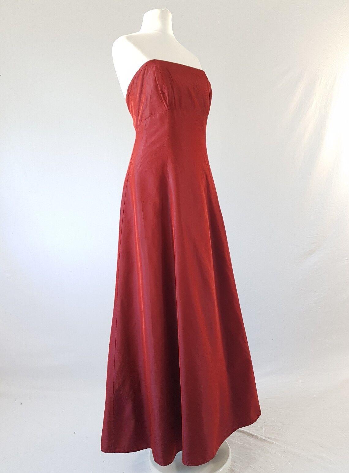 Vintage Prom Dress Strapless Monsoon Style