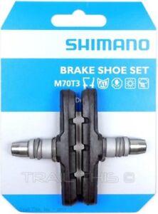 Shimano-M70T3-MTB-Road-Bike-Linear-Pull-V-Type-Brake-Pads-Shoe-Set-LX-Deore
