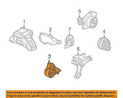 GM OEM-Engine Motor Mount//Torque Strut 22708437