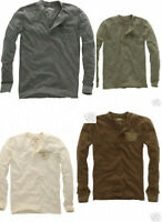 Aeropostale Logo Long Sleeved Henley