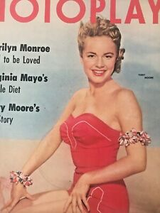 Vintage-Collectible-Movie-Magazine-Terry-Moore-Cover-August-1954