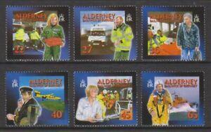 Alderney-2002-Community-Services-Medizinischen-Hilfe-Set-MNH-Sg-A197-202