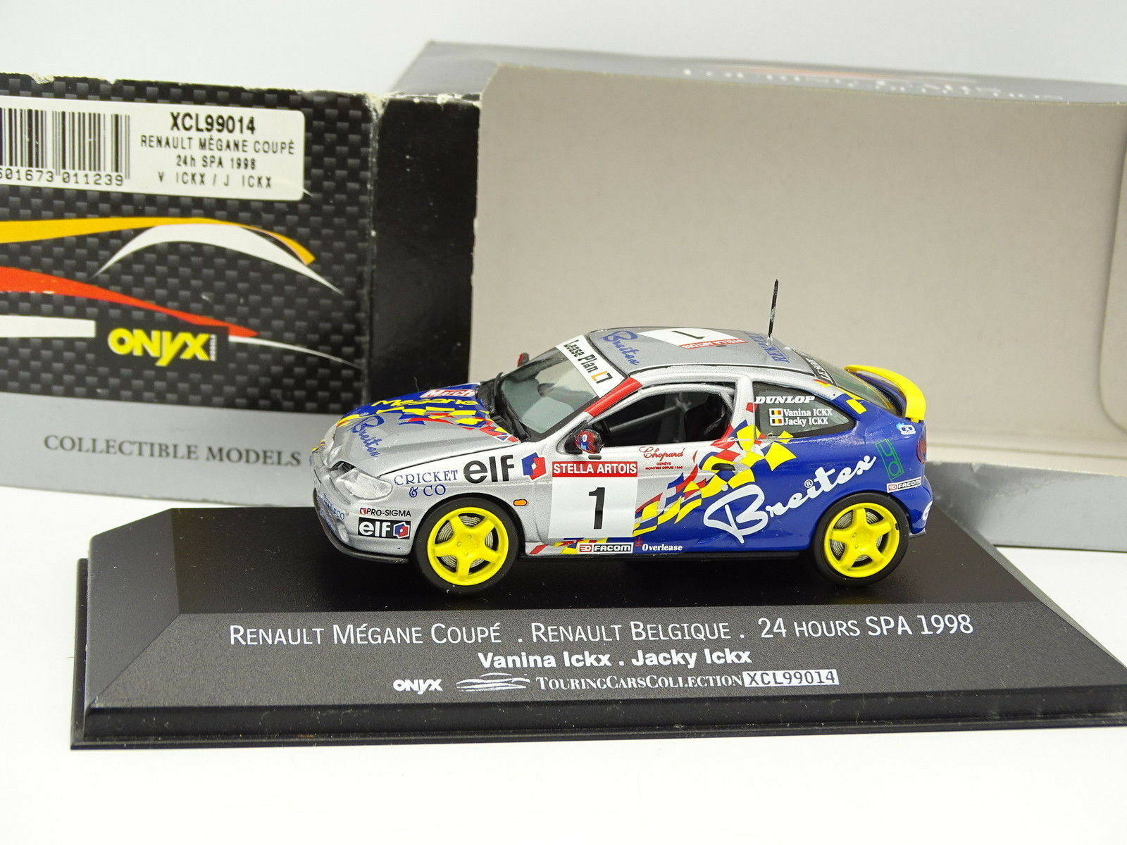 Onyx 1 43 - renault megane coupe 24h spa 1998 curves