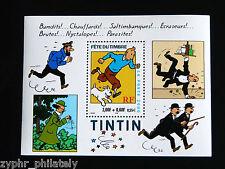 "France - ""ANIMATION ~ CARTOON ~ TINTIN ~ SNOWY"" MNH Miniature Sheet MS 2000 !"