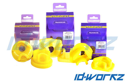 Powerflex Engine /& Gearbox Mount Inserts Honda Civic EP3 Type R