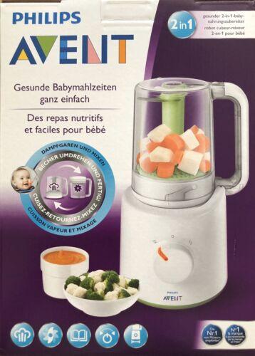 Dampfgarer Philips Avent 2-in-1 Babynahrungszubereiter SCF870
