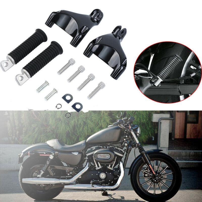 XL 1200 C Craftride Glider X schwarz Sozius Saugnapf Sitzpad f/ür Harley Davidson Sportster 1200 Custom