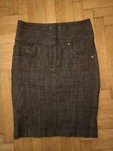 Bodyright-Jeans-Rock-Bleistiftrock-mit-Shape-Effekt-durch-breiten-Miederbund-36