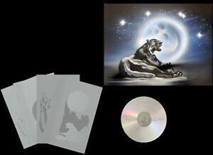 Step-by-Step-Airbrush-Schablone-Stencil-Tiere-662-liegender-Panther-2-amp-CD