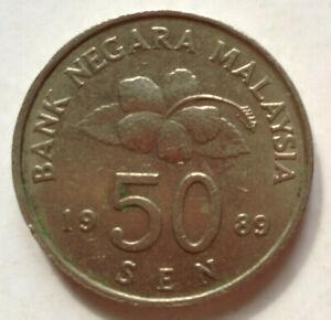 Second-Series-50-sen-coin-1989