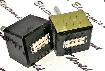 1pcs-ALPS RK40 100K Log Black Beauty Audio Potentiometer Half Shaft 423N Used