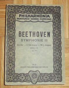 Beethoven Symphonie 3 op. 55 Es-dur Partitur Philharmonia - Mauterndorf, Österreich - Beethoven Symphonie 3 op. 55 Es-dur Partitur Philharmonia - Mauterndorf, Österreich