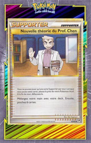 83//95 Carte Pokemon Neuve Française Chen Nouvelle Théorie du Prof