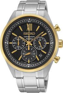 Seiko SSB156 SSB156P1 Mens Chronograph Watch WR100m NEW RRP $595.00