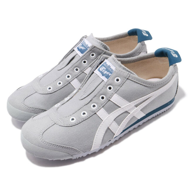 pretty nice 93537 285c3 Asics Onitsuka Tiger Mexico 66 Slip-On Grey White Men Women Unisex  1183A360-020
