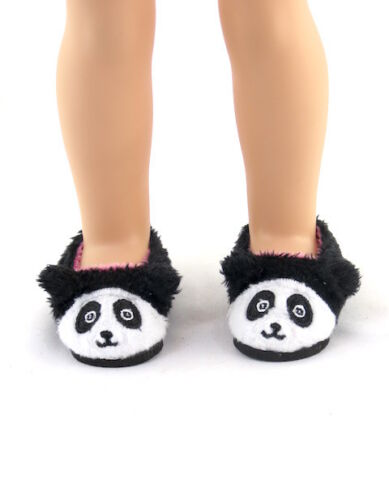 """Panda Slippers Fits Wellie Wishers 14.5/"""" American Girl Clothes Shoes"""