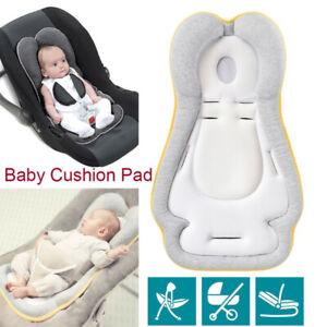 New Newborn Baby Car Seat Stroller Cushion Pad Liner Mat Head Body Support UK