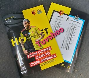 Watford-v-Newcastle-United-LIMITED-Programme-11-7-20-READY-TO-POST