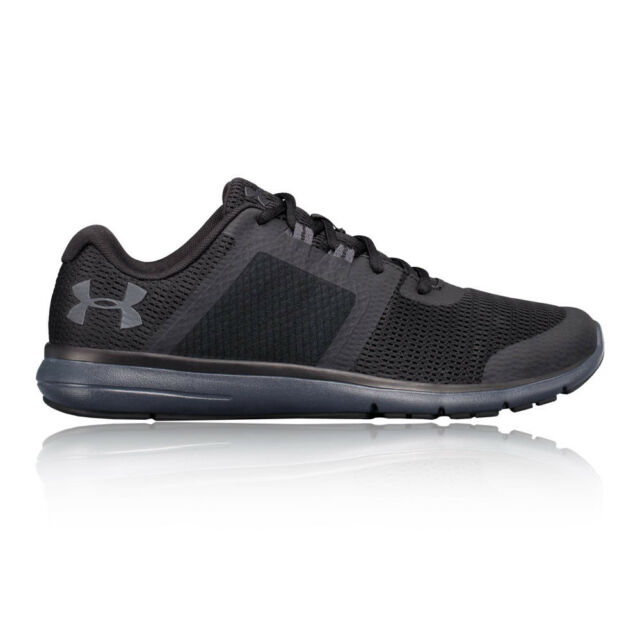 Buy Under Armour Fuse FST Mens 3019876-002 Black Anthracite Running ... 70b39e76a