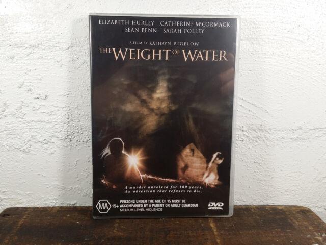 THE WEIGHT OF WATER DVD - R4 - Elizabeth Hurley, Catherine McCormack, Sean Penn