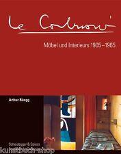 Fachbuch Le Corbusier, Möbel und Interieurs 1905-1965, STATT 160 Euro, NEU, OVP