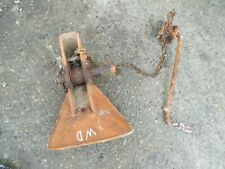 Allis Chalmers Wd Wd45 45 Ac Tractor Snap Coupler Bell Housing Holder Amp Release