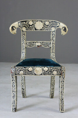 Anglo Indian Inlaid Chair