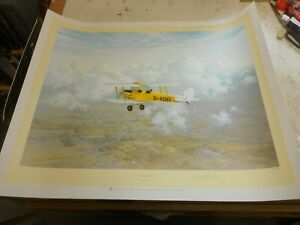 GERALD-COULSON-A-SPECIAL-BREED-SIGNED-LIMITED-EDITION-PRINT-VGC-TIGER-MOTH