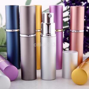 Mini Refillable Perfume Atomizer Bottle Travel Scent Pump Portable Spray Case CC