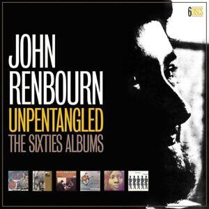 JOHN-RENBOURN-034-UNPENTAGLED-034-THE-SIXTIES-ALBUMS-6-CDS-BOX-SET-UK-IMPORT