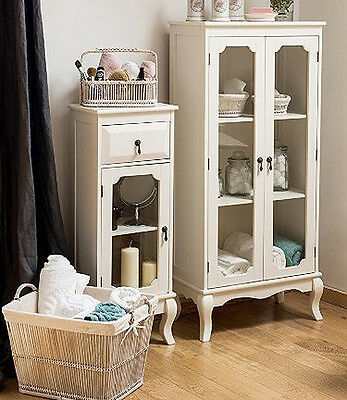 Small French Cabinet White Bedroom Furniture Vintage ...