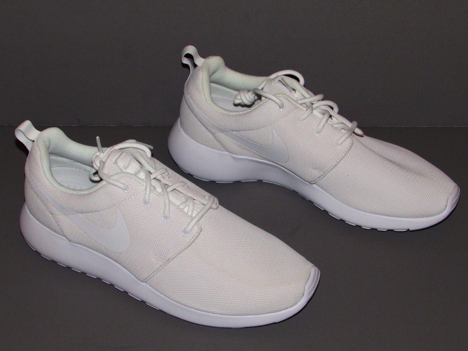451c49272c90 Nike Roshe One Women s Shoes White pure Platinum 844994-100 Size US ...