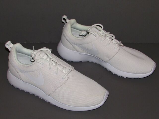 59479fa34ff8 Nike Roshe One Women s Shoes White pure Platinum 844994-100 Size US 11 for  sale online