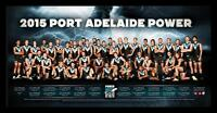 2015 Port Adelaide Football Club Team Afl Port Adelaide Power Team Poster Framed
