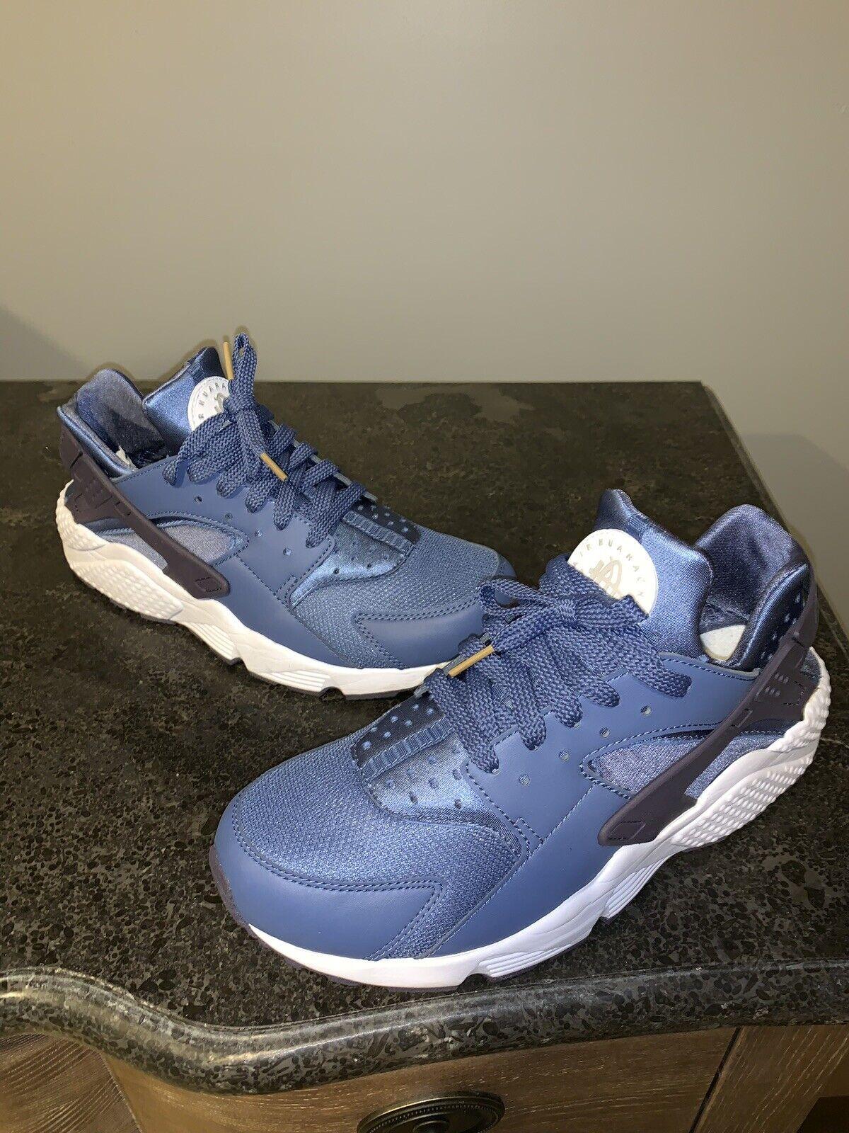 timeless design 96165 ec418 Nike Air Air Air Huarache Athletic 318429 414 bluee Moon Size 9.5 WORN  TWICE a1f43c