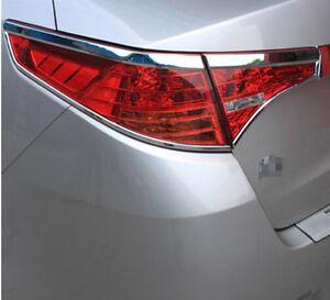 Abs Chrome Rear Tail Light Cover Trim 4pcs For Kia Optima K5 2011